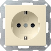 SCHUKO socket outlet 16 A/250 V~ with child protection and k symbol