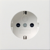 SCHUKO socket outlet 16 A/250 V~with child protection and k symbol