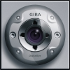 Colour camera for flush-mounted door station