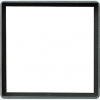 Intermediate plate with square cut-out 55 x 55 mm