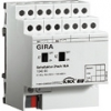 Switching actuator, 2-gang 16 A with manual activation